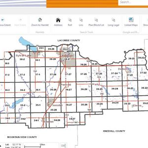 Red Deer County Map Red Deer County, AB   Official Website